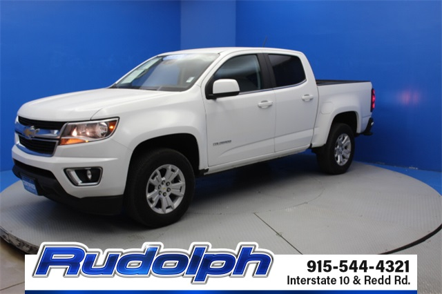 Chevrolet El Paso >> Pre Owned 2017 Chevrolet Colorado Lt Rwd 4d Crew Cab