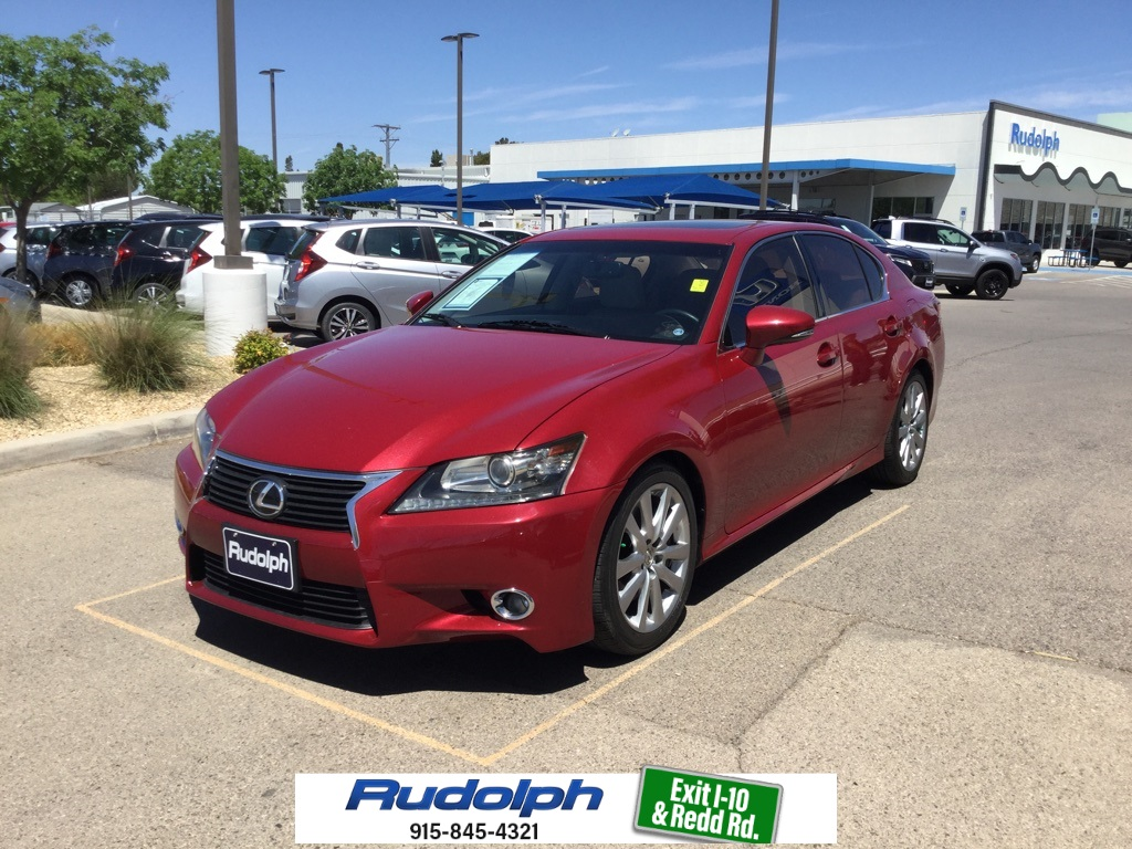 Lexus El Paso >> Pre Owned 2013 Lexus Gs 350 4d Sedan In El Paso Hp19044 Rudolph