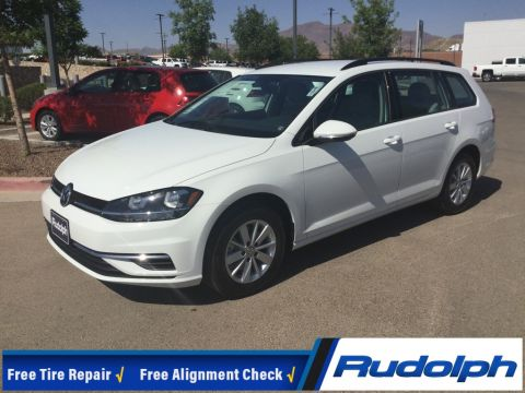New 2018 Volkswagen Golf SportWagen S